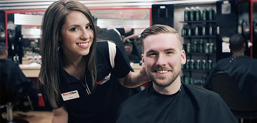 Sport Clips Haircuts of Lewisville/Coppell stylist hair cut